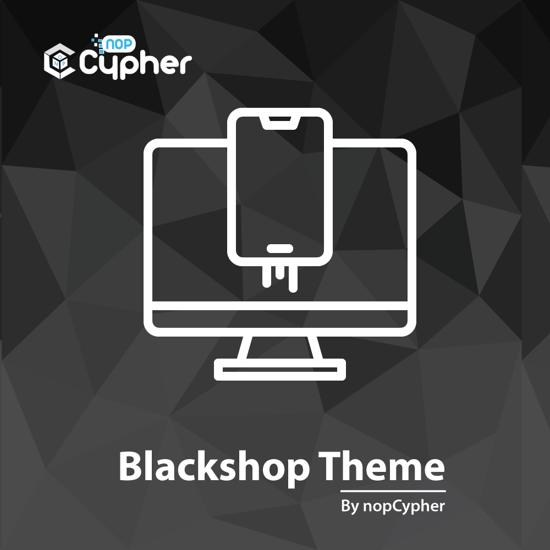 Picture of Black Shop Theme